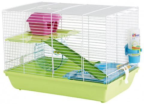 Клетка для грызунов - SAVIC Martha Triple, 46,5 x 29,5 x 34 см title=