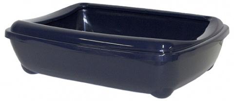 Туалет для кошек – MAGIC CAT Economy with Rim, blue, 50 x 38 x 14 см title=