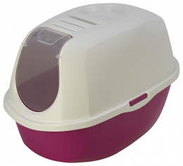 Туалет для котов - MAGIC CAT закрытый, 53*39*41см, цвет - красный