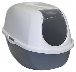Туалет для котов - MAGIC CAT закрытый, 53*39*41см, цвет - серый