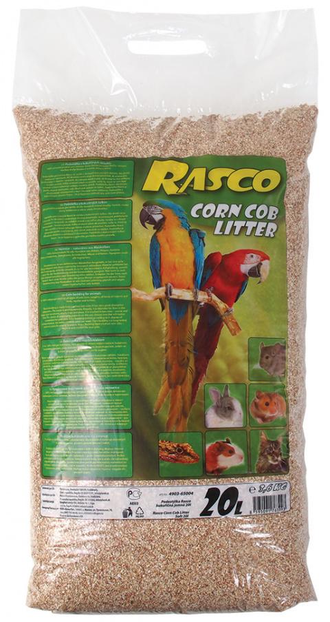 Кукурузные опилки - Rasco Corn Cob Litter, 20l