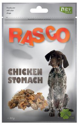 Лакомство для собак - Rasco Chicken Stomach, 80g