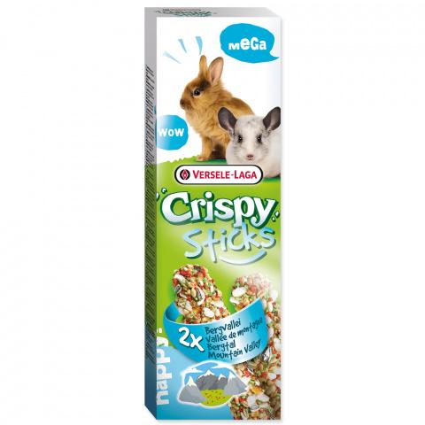 Gardums grauzējiem - Crispy Sticks for Rabbit&Chincilla Mountain Valle 110g
