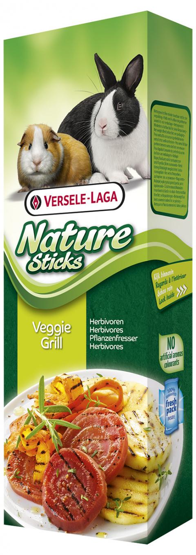 Gardums grauzējiem - Nature Sticks Veggie Grill 90g title=