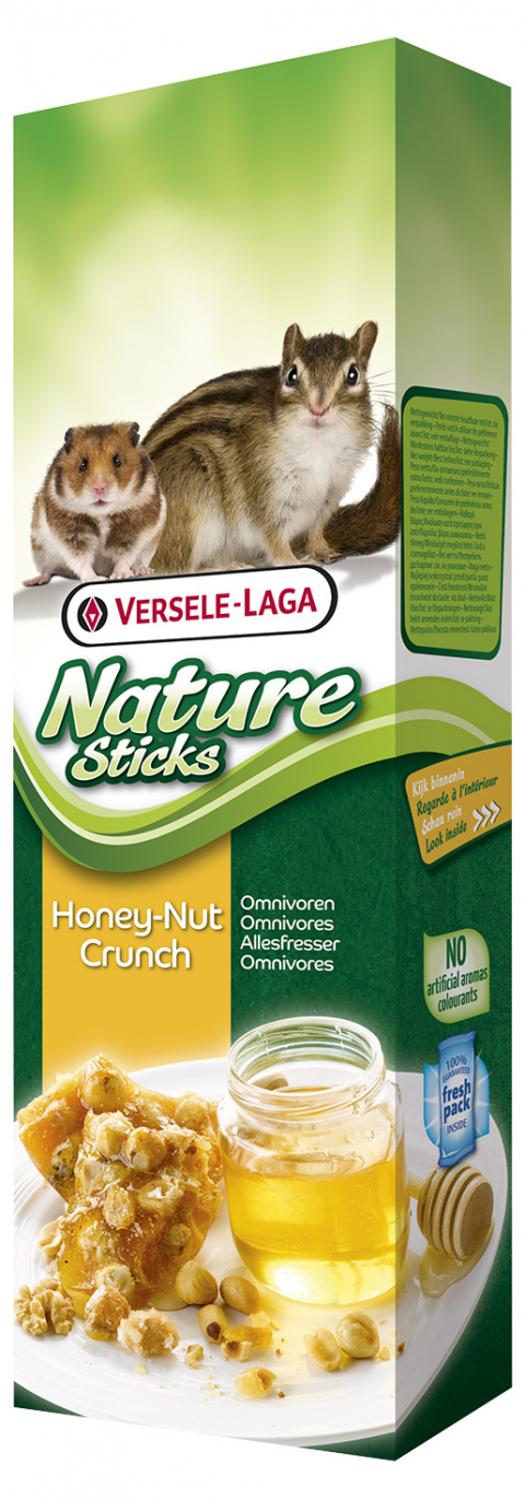 Gardums grauzējiem - Nature Sticks Honey-Nut Crunch 140g