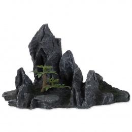 Dekors akvārijam - Aqua Excellent Rock with Plant, 21,5 x 10 x 12,5 cm