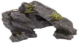 Декор для аквариумов - Aqua Excellent Rock with Plant, 34*12*17 cm