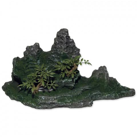 Dekors akvārijam - Aqua Excellent Rock with Plant, 26*13*13 cm