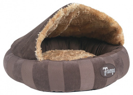 Guļvieta kaķiem - Scruffs TRAMPS AristoCat, brūna, 45*45*12cm