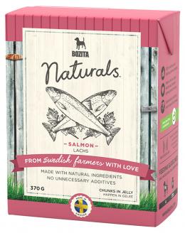 Консервы для собак - Bozita Chunks in Jelly Dog Naturals Big Salmon, Tetra Pak, 370гр