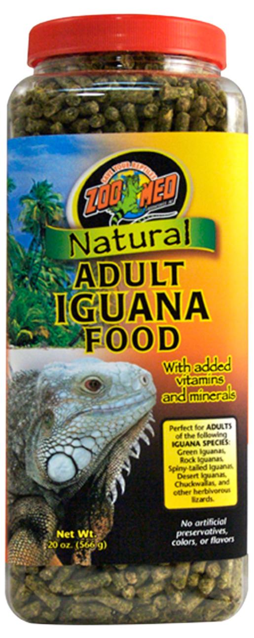 Barība reptiļiem - ZOO MED Natural Iguana Adult Food 567 g