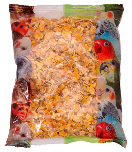 Papildbarība putniem un grauzējiem - APETIT placināta kukurūza (400 gr)