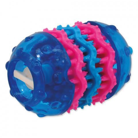 Rotaļlieta suņiem - DogFantasy Rotaļlieta zobiem no termoplastiskas gumijas, zila, 9,8*6,4 cm title=