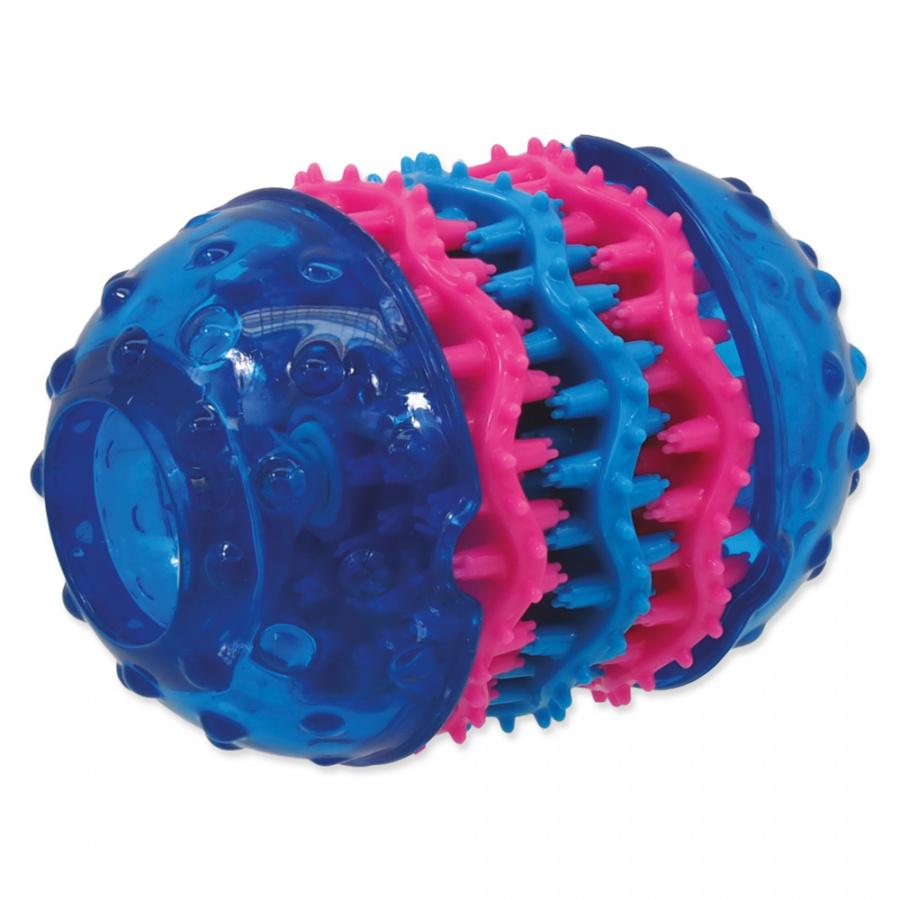 Игрушка для собак - DogFantasy Игрушка для зубов из термопластичного каучука, синий, 10,8*8 cm