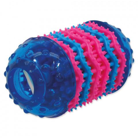 Rotaļlieta suņiem - DogFantasy Rotaļlieta zobiem no termoplastiskas gumijas, zila, 14,4*8 cm title=