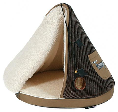 Guļvieta kaķiem - Scruffs TRAMPS Teepee, 45cm