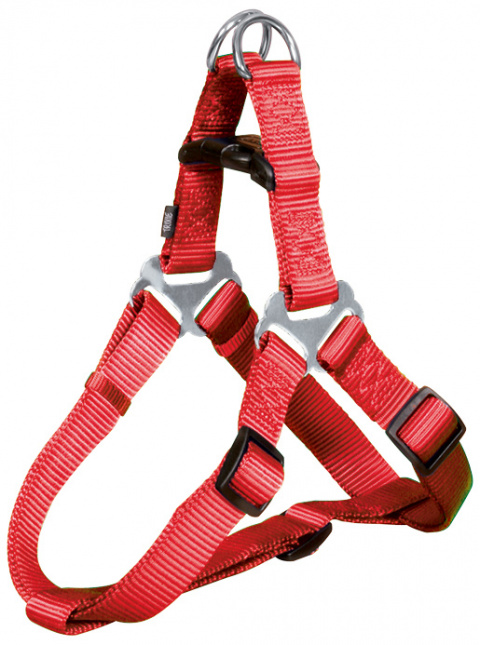 Шлейка для собак - Premium One Touch harness, M: 50–65 cm/20 mm, красный