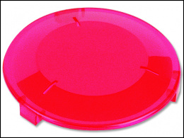 Gaismas filtrs lukturim Laguna Power Glo  sarkana