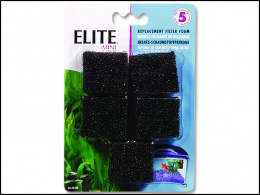 Akvārija filtru pildījums - Foam for Elite Mini 5 gab