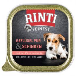Konservi suņiem - Rinti Feinest, vista un šķiņķis, 150 g