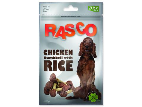 Лакомство для собак - Rasco Chicken Dumbbell, 80g