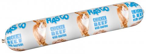 Konservi kaķiem - Salami RASCO Chicken, Beef & Taurine, 100g