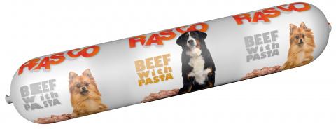 Konservi suņiem - Salami Rasco Beef with Pasta, 900 g