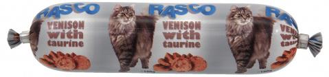 Konservi kaķiem - Salami RASCO Venison & Taurine, 100g