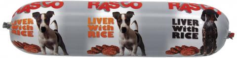Konservi suņiem - Salami Rasco Liver with Rice, 900 g