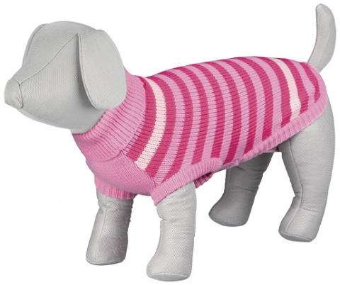 Джемпер для собак - Barrie Pullover, XS, 24cm, розовый