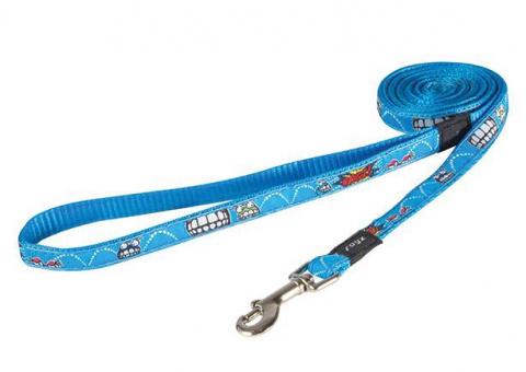 Поводок для собак - Rogz leash Fancy Dress Comic, M, 108 cm title=