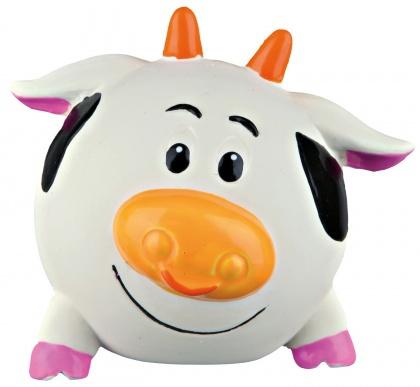 Игрушка для собак – TRIXIE Ball animal, latex/polyester fleece, 6 см