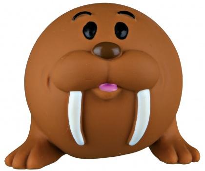 Rotaļlieta suņiem – TRIXIE Ball animal, latex/polyester fleece, 6 cm