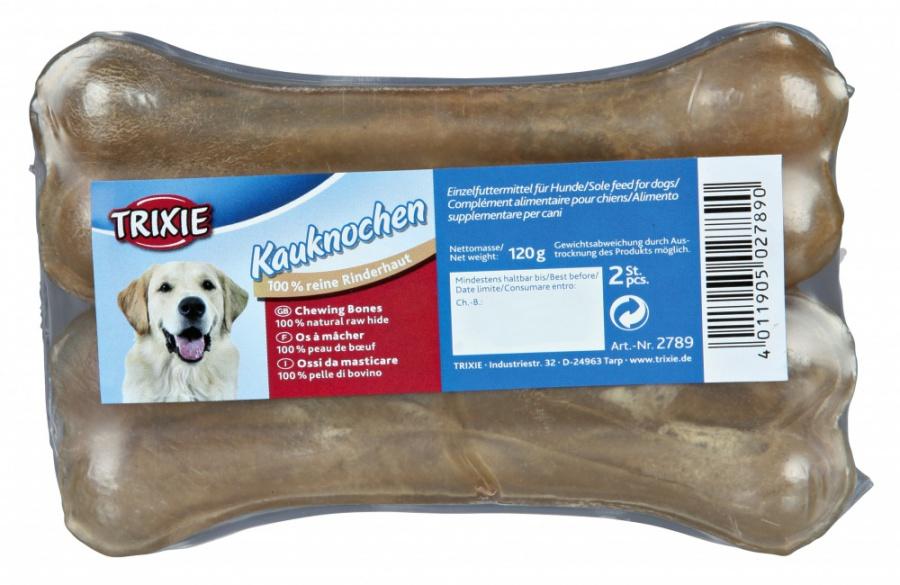 Лакомство для собак - TRIXIE Комплект косточек 13 см, 2 x 60 г