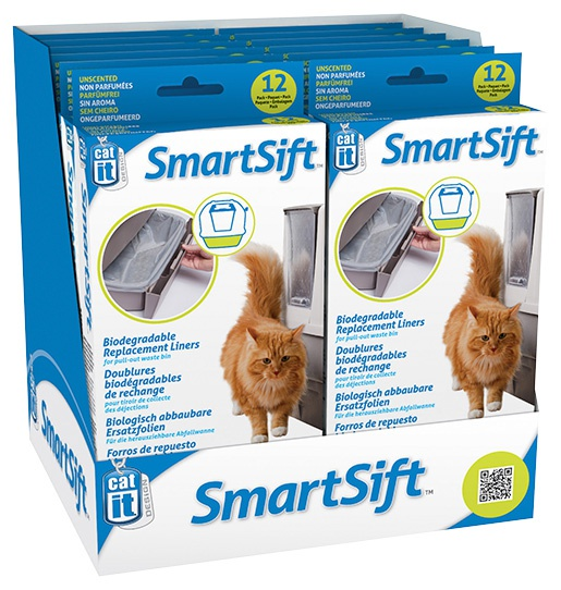 Maisiņi kaķu tualetei -  CatIt Design Sifting, 12 gb