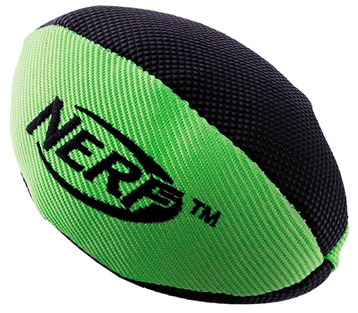 Rotaļlieta suņiem - NERF Trackshot Squeaker Football, 17 cm