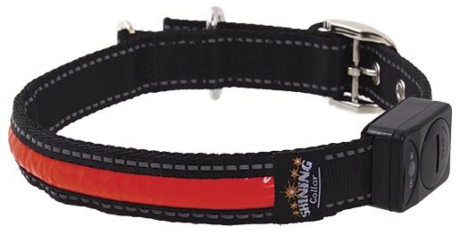 Atstarojošā kakla siksna - DogFantasy LED Reflective Collar, L