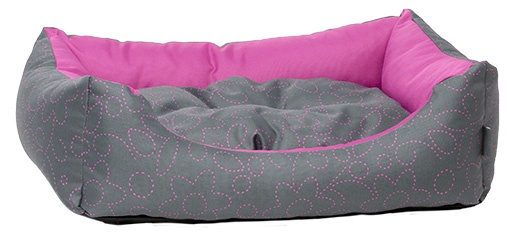 Guļvieta suņiem - Dog Fantasy DeLuxe Sofa,  83x70x20 cm, pink