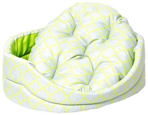 Лежанка для собак - Dog Fantasy DeLuxe oval, 102*89*22 cm