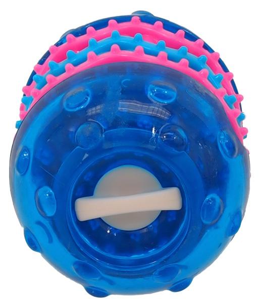 Игрушка для собак - DogFantasy Игрушка для зубов из термопластичного каучука, синий, 9,8*6,4 cm