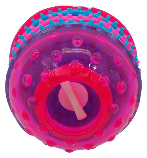 Игрушка для собак - DogFantasy Игрушка для зубов из термопластичного каучука, розовый, 10,8*8 cm