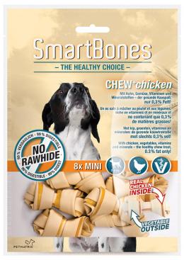 Лакомство для собак - SmartBones Chew+Chicken mini, 8шт.