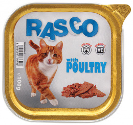 Консервы для кошек - RASCO Poultry, 100g