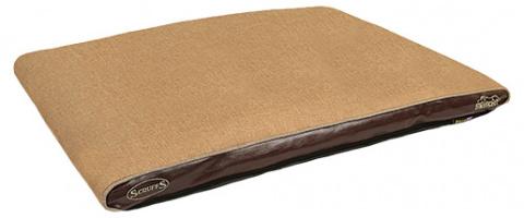 Guіvieta suņiem - Scruffs Hilton Memory Foam Orthopaedic, 100*70*6cm, tan