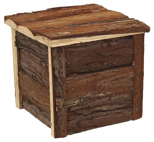 Koka māja grauzējiem - Mājiņa  SMALL ANIMAL dreveny 40 x 23 x 20 cm