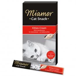 Лакомство для кошек - Miamor Kitten Milk Cream 5*15g