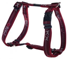 Krūšu siksna suņiem - Rogz Fancy Dress Red Heart, XL