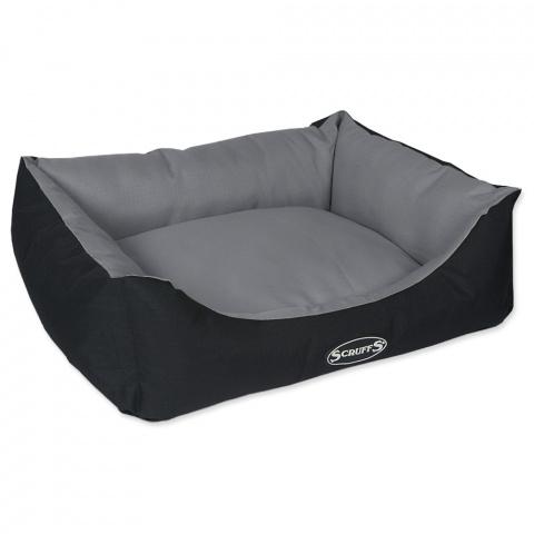 Guļvieta suņiem – Scruffs Expedition Box Bed (M), 60 x 50 cm, Grey title=