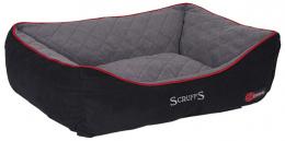 Спальное место для собак - Scruffs Thermal Box Bed (XL), 90 x 70 см, черный