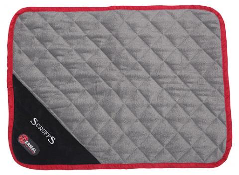 Sildoša guļvieta dzīvniekiem - Scruffs Thermal Mat (XS), 60 x 45 x 1 cm, black title=